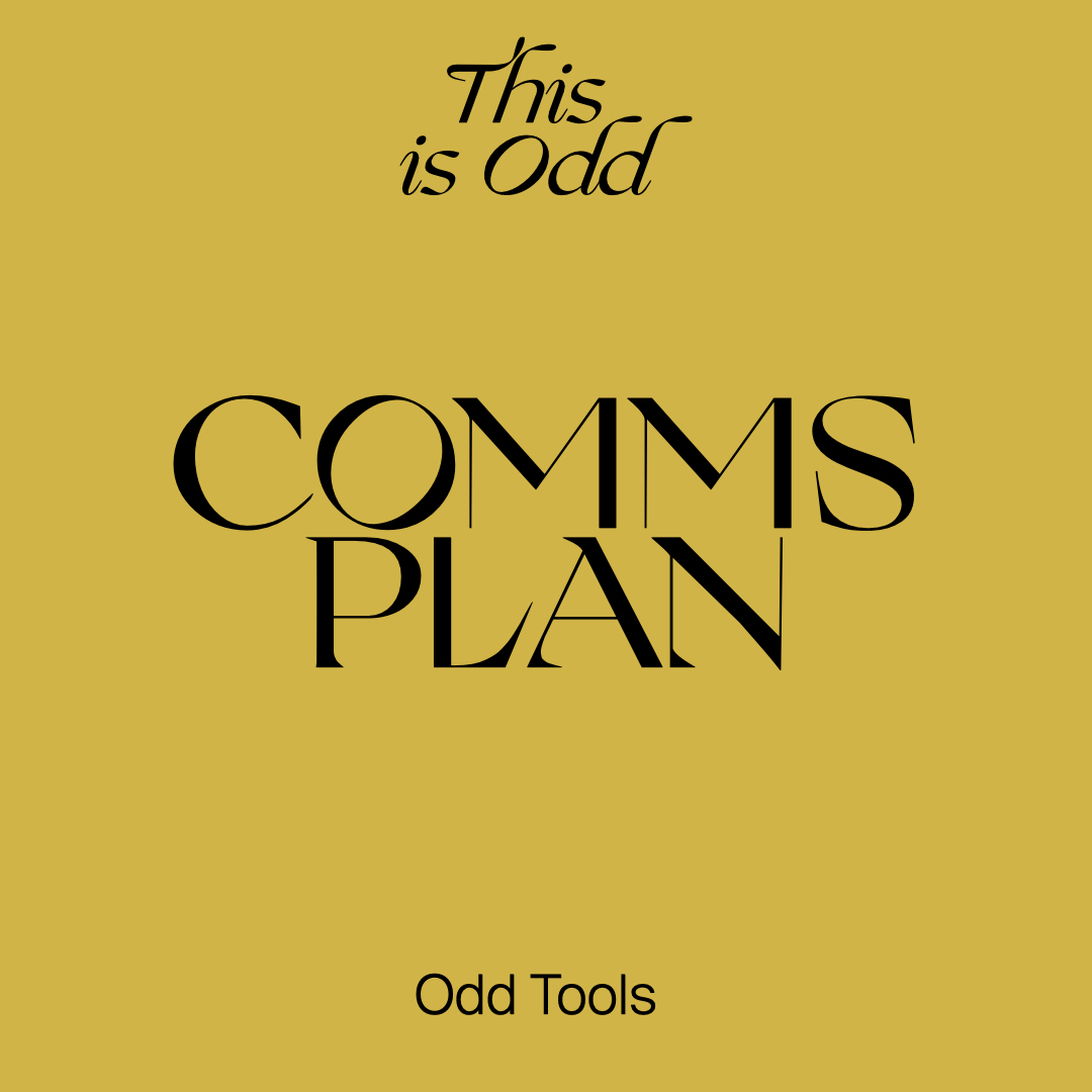 tools_comms plan