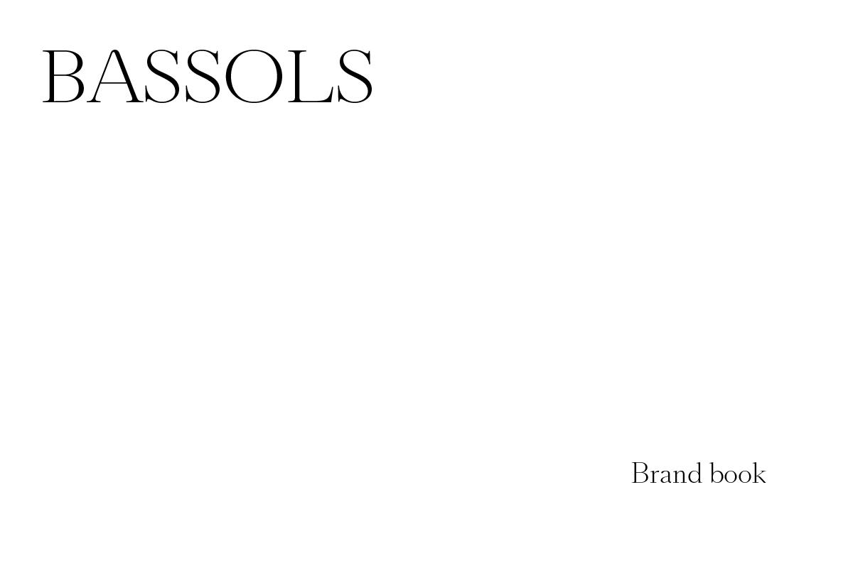 BASSOLS_Brandbook
